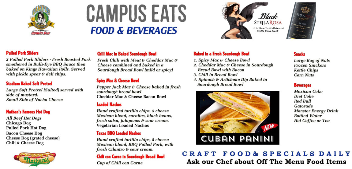 Campus Eats Food & Beverages