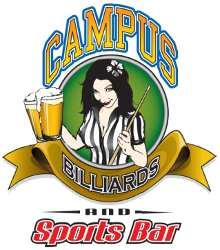 Campus Billiards and Sports Bar Logo
